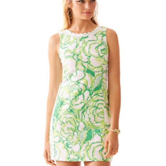 201571e67ea6 Lilly Pulitzer Dresses | Mila Shift Dress Resort White Heart | Poshmark